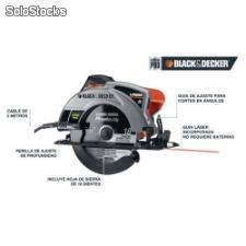 "Sierra circular de 7-1/4"" black and decker cs1030"