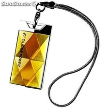 Silicon Power touch 580 - Pendrive 8 GB Amber -
