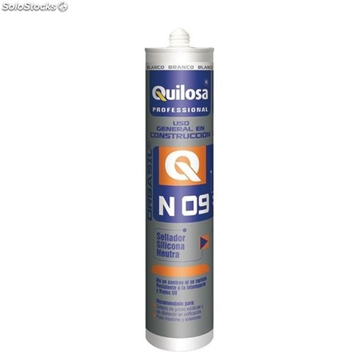Silicona Neutra Const. 300 Ml Bl Int/Ext Orbasil N-09 Quilos