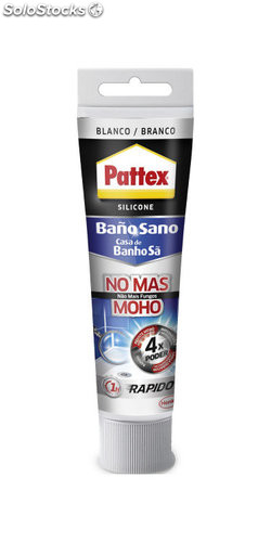 Silicona pattex no mas moho 50 ml transparente