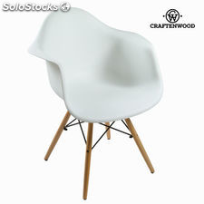 Silla abs blanca by Craftenwood
