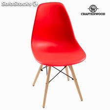 Silla abs roja by Craftenwood
