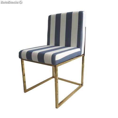 Silla gata blue and white muebles marieta - Marieta muebles ...