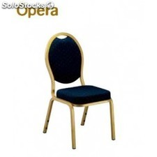 Silla apilable catering OPER azul
