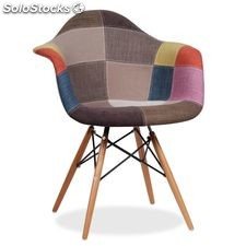 Silla arms Grey & Colors Patchwork oferta