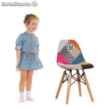 Silla baby wooden Patchwork Edition