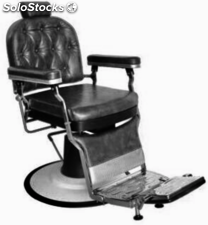 silla barbero Retro