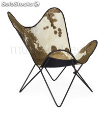 Silla Butterfly chair marron