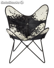 Silla Butterfly chair negro