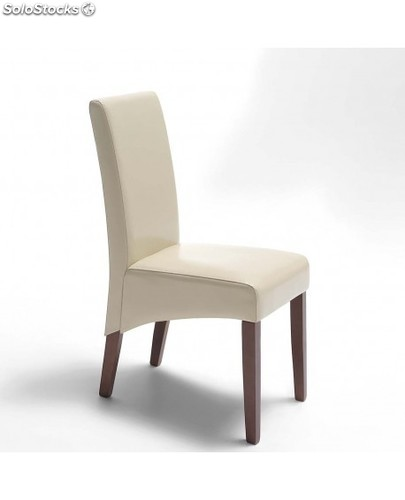 Silla comedor polipiel dante for Sillas polipiel beige