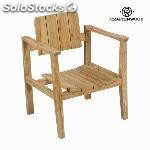 ✅ silla con brazos 62X58X80 cm - coleccin pure life by craftenwood