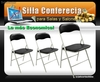 Silla Conferencia (disponibles en colores negras o blancas)