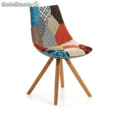 Silla de comedor Avenue - Color - Patchwork