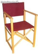 Silla de director plegable