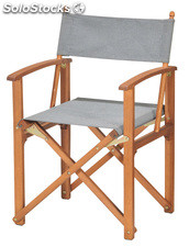 Silla director plegable
