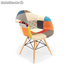 Silla Eames DAW Patchwork style mix