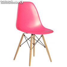 """Silla Eames DSW Style """"New Edition"""" Rosa"""