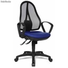 Silla ergonómica OPEN POINT 10 , totalmente ajustable,, azul