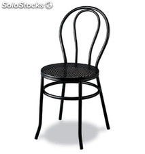 Silla Estilo Thonet Metal Color Negro