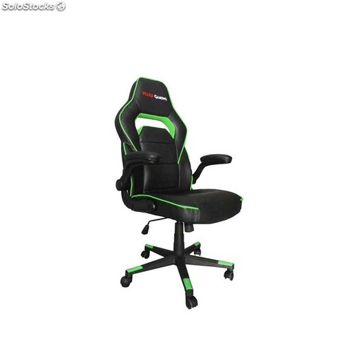 Silla Asiento Brazos Mars Gaming Color Gamer Reclinable Ab Mgc117bg Negroverde 34A5RqcjLS