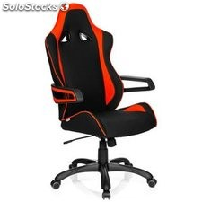 Silla gaming RACER PRO II uso 8h, color rojo/negro