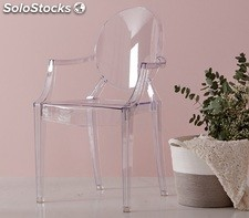 Silla Ghost transparente