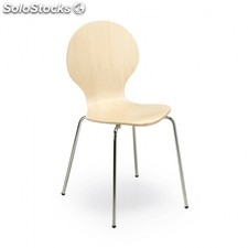 Silla Jazz - Color - Madera Clara