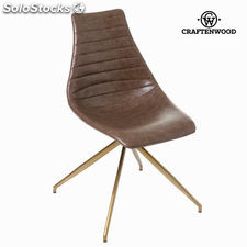 Silla l amour color marrón by Craftenwood