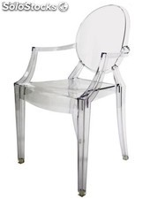 Silla Louis Ghost Style Transparente