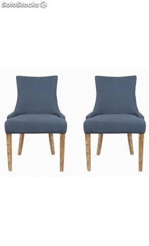 Silla moderna de diseño vivian dining chair ( set of 2 )