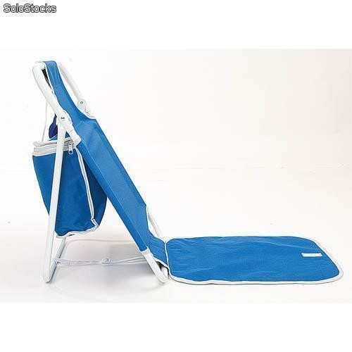 Silla nevera plegable para playa for Sillas para la playa