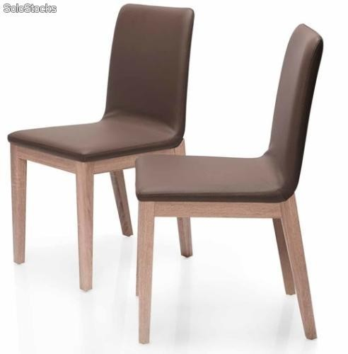 silla nordica roble dc