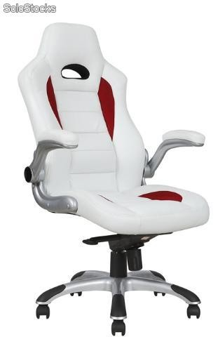 Silla oficina deportiva backet racing for Asiento de escritorio