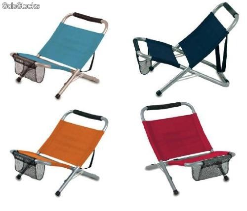 Silla plegable de playa ligera - Silla de playa plegable ...
