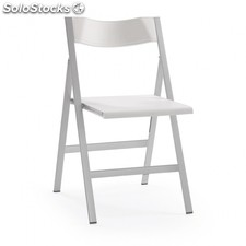 Silla plegable Fargo - Color - Blanco