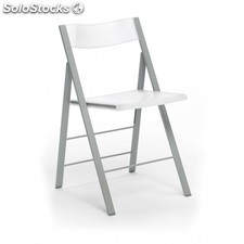 Silla plegable Pisa - Color - Blanco