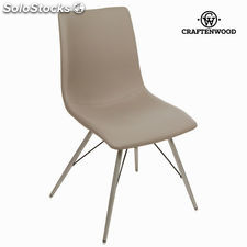 Silla polipiel topo by Craftenwood
