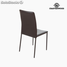 ✅ silla pvc marrn by craftenwood