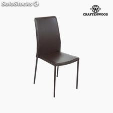 Silla pvc marrón by Craftenwood