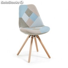 Silla Ralf Patchwork - Color - Ralf Patchwork Azul