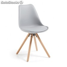 Silla Ralf Wood - Color - Gris