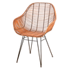 Silla Rattan natural modelo BUCKET
