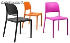 Silla Riva Bistrot para contract : Colores - Café