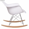 Silla sillas Eames Rocking Chair rar Balancin Mecedora