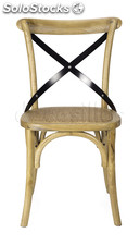 Silla Thonet roble/metal new