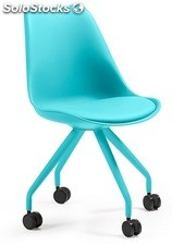 Silla tower office azul
