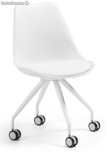 Silla tower office blanca