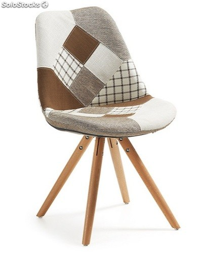 Silla tower patchwork tostado