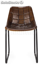 Silla Vintage Leather acolchada new