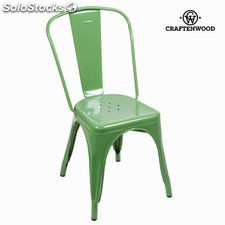 Silla vintage verde by Craftenwood